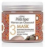 Gena PediSpa Moroccan Ghassoul Nutrient-Rich Nourishing Mask