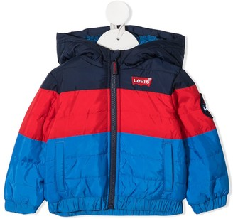 Levi's Color-Block Hooded Jacket