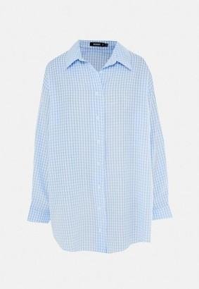 Missguided Gingham Oversized Shirt