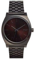 Nixon 'The Time Teller' Stainless Steel Bracelet Watch, 37mm