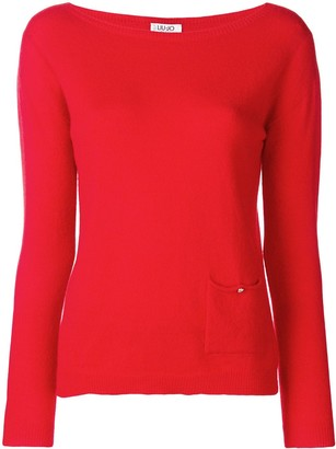 Liu Jo Boat Neck Sweater