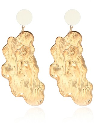 PEET DULLAERT Sirene 14kt gold-plated earrings with faux pearls