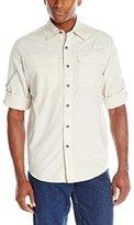 Wrangler Authentics Mens Long Sleeve Utility Shirt