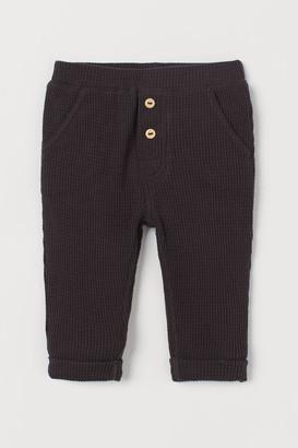 H&M Waffled Pants - Gray