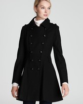 Novara Double Breasted Wool Blend Coat