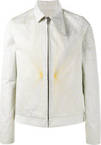 Rick Owens embroidered Brother jacket - men - Cotton/Acrylic/Cupro/Wool - 46