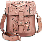 Patricia Nash Studded Link Lari Flap Mini Crossbody