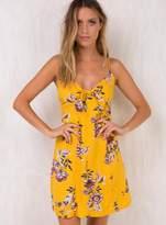 MinkPink Amalfi Tie Front Dress