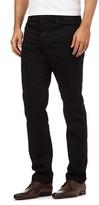J By Jasper Conran Black Textured Trousers