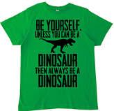 Micro Me Green 'Be a Dinosaur' Tee - Toddler & Kids