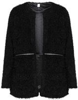 Tia Dresses Plus Size Embellished waist zip cardigan