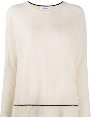 Calvin Klein Fine-Knit Long Sleeve Jumper
