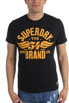 Superdry Mens 54 Brand Cold Dye T-Shirt, Size:, Color: