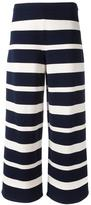 'S Max Mara - wide-legged striped trousers - women - Polyester/Viscose - M