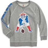 Junk Food Clothing Boy's Formation New England Patriots Sweatshirt