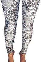 Leggings,Doinshop Casual Women Lady Geometric Printed Stretchy Jegging Slim Pants (XL, )