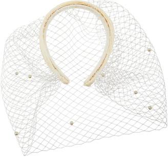 Monsoon Beatrice Bridal Veil Pearl Headband