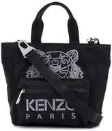 Kenzo small Tiger embroidered tote