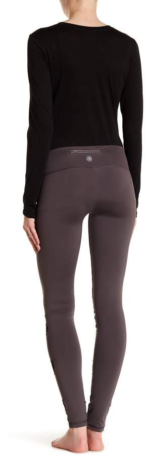 Electric Yoga Mesh Panel Leggings (Maternity)