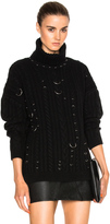 Thierry Mugler Cable Knit Piercings Sweater