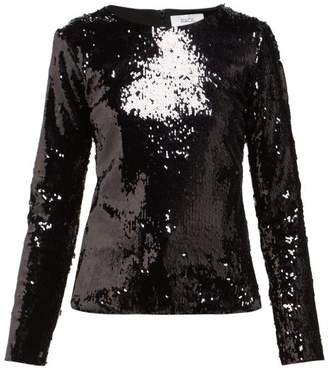 Racil Judy Sequin-embellished Top - Womens - Black