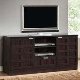 Baxton Studio Tosato Modern TV Stand and Media Cabinet in Dark Brown