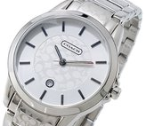 Coach 14501398 Signature C Silver Stainless Steel Quartz Women's Watch
