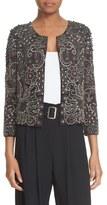 Parker 'Valentina' Embellished Collarless Jacket