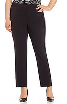 Vince Camuto Plus Front Zip Ankle Pant