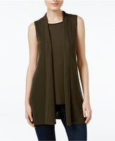 Eileen Fisher Tencel® Open-Front Vest, Regular & Petite