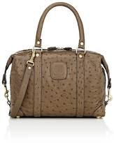 Ghurka Women's Cavalier 0 Ostrich Small Duffel Bag