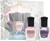 Deborah Lippmann The World Is Your Oyster Nail Polish Duo