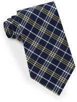 Lord & Taylor Plaid Striped Tie