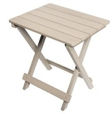 Tiffany Composite Wooden Bistro Table Millwood Pines Color: Gray