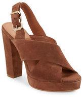 Kenneth Cole New York Lola Suede Platform Sandals