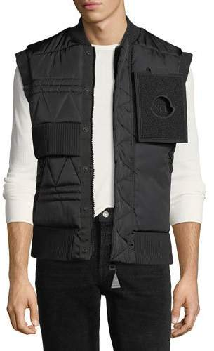 Moncler Trish Quilted Utility Vest