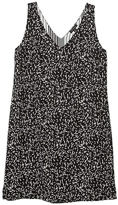 Tribal Reversible Dress (Black) Women's Clothing