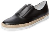 Tod's Leather Slip-On Sneaker