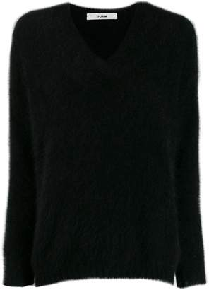 Roberto Collina v-neck knitted top