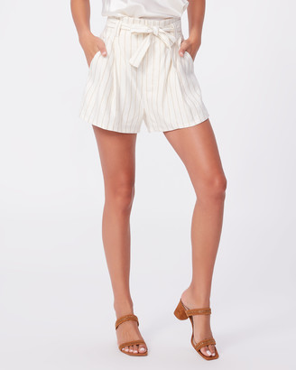 Paige Siesta Short-Afterglow/Gold