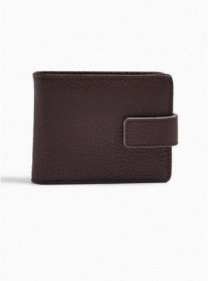 Topman Mens Brown Pu Wallet