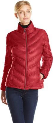 Calvin Klein Women's Lightweight Packable Down Short Jacket