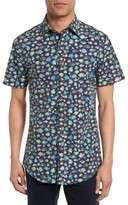 Rodd & Gunn Men's Hawkdune Regular Fit Print Sport Shirt
