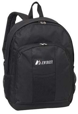 "Everest Dual Side Mesh Pocket Backpack BP2072 11""x 17""x 5"""