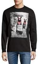 Riot Society Graphic Cotton Sweater
