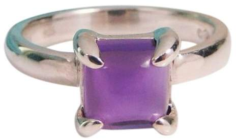 Tiffany & Co. Paloma Picasso Sugar Stacks Amethyst Sterling Silver Ring
