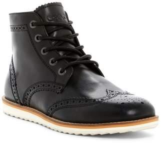 Crevo Boardwalk Wingtip Leather Boot