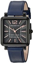 Marc Jacobs Women's Vic Navy Leather Watch - MJ1524
