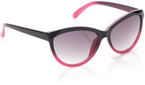 Big Buddha Pink & Black Ombré Cat-Eye Sunglasses