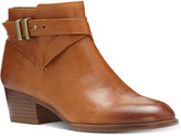 INC International Concepts Women's Herbii Buckle Booties, Only at Macy's